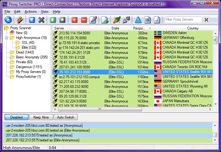 proxy switcher скачать бесплатно crack